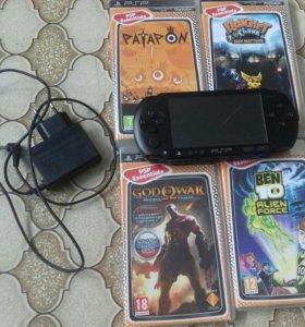 PSP с играми