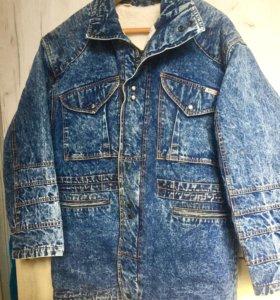 Мужская джинсовая куртка с утеплением 🙋🏻♂️