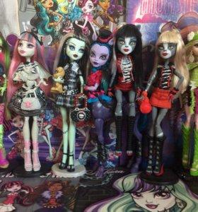 Куклы «Monster High» Базовые. С питомцами и без.