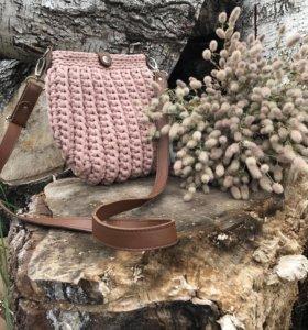 Вязаные сумочки