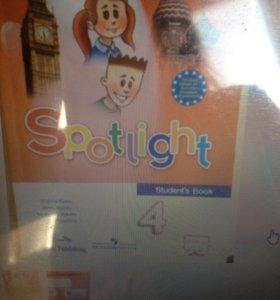 Учебник по английскому языку Spotlight, 4 класс