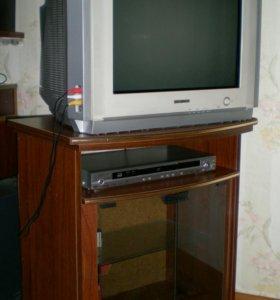 Телевизор,DVD
