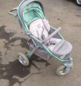 Детская коляска. Happy Baby neon sport