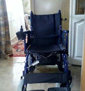 Коляска инвалидная с электроприводом KY123