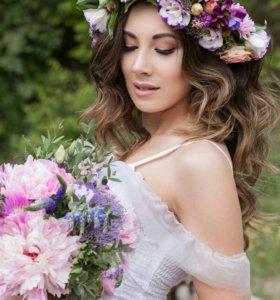 Свадебные и другие букеты в Сочи, венки недорого