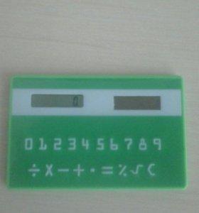 Калькулятор карточка