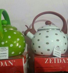 Чайники в ассортименте