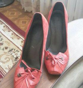 Туфли кожанные !