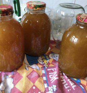 1200 р за банку 3 л. Мёд из Тамбовской области