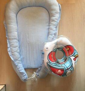 Гнездышко (кокон) для новорожденных+подарок