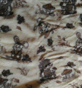 Одеяло шерстяное овчина !