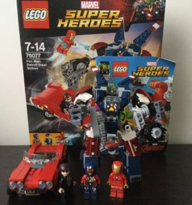 LEGO Marvel super heroes 76077