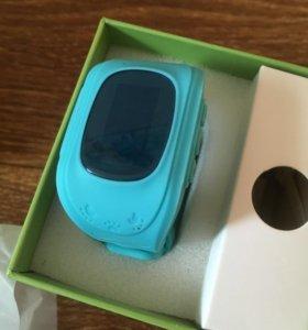 Gps детские часы, синие