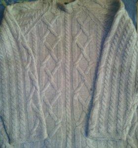 Мужской свитер,шерсть.