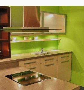 Замена кухонных фасадов на новые