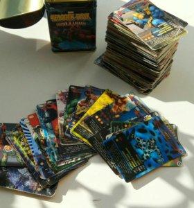 Коллекционные карточки Marvel Человек-Паук