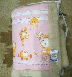 Детское одеяло мех