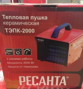 Тепловая пушка керамическая ТЭПК-2000