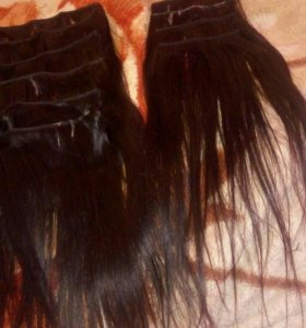 Волос натуральный Черный