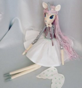 Кукла интерьерная Единорог