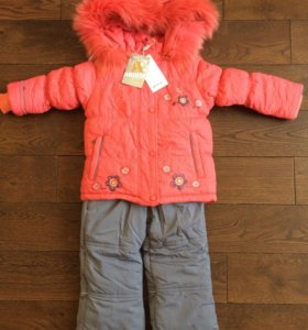 Зимний костюм для девочки Arista, 98 р