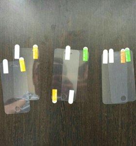 Пленки на iPhone 4