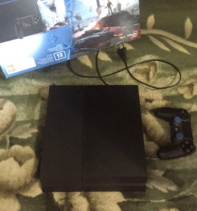 PlayStation 4 1tb + 7 игр