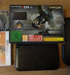 Комплект Nintendo 3DS XL Monster Hunter 3 Ultimate