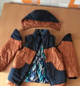 Куртка демисезонная 4в1