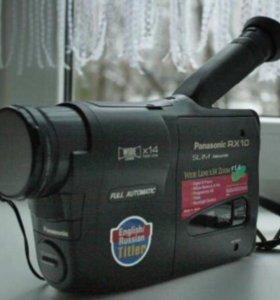 Panasonic RX10 Slim Palmcorder + кассетный адаптер