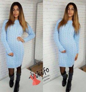 Платье-свитер 💎