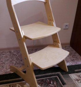 """Детский растущий стул """"конек-горбунок"""""""