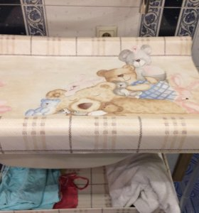 Пеленальник с ванночкой