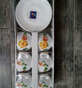 Набор чашка+блюдце