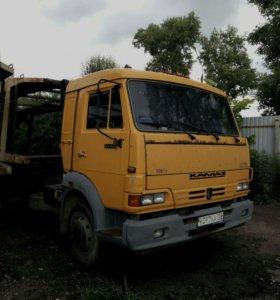 Камаз 4308 - Седельный тягач - автовоз