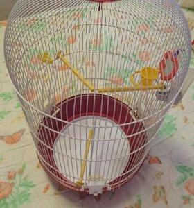 Клетка для большой птицы.