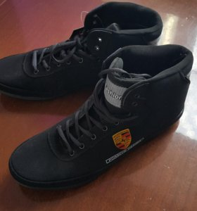 ботинки замша на меху новые