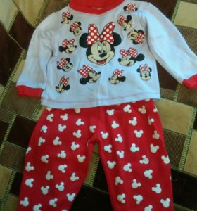 Новая пижама для девочки 1,5-2 года
