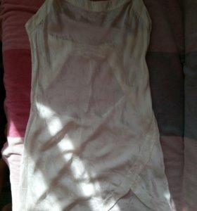 Новая шёлковая пижама - сорочка