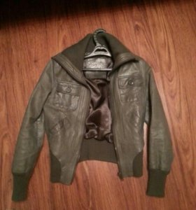 Куртка кожаная 40-46