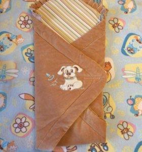 Конверт -одеяло для новорожденного