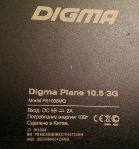 Планшет DIGMA Plane 10.5 3G
