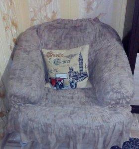 Кресло + еврочехол к нему