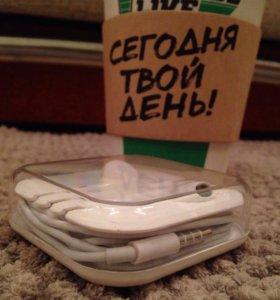 EarPods mini jack IPhone 3,4,5,6 наушники apple🍏