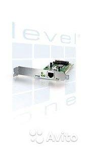 Сетевая карта, интерфейс PCI- Level One FNC-0107TX