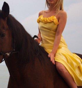 Платье в пол💛💛💛💛💛💛