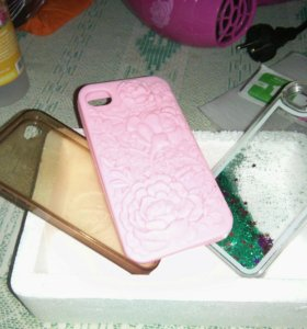 Чехлы на айфон 4, защитное стекло