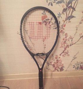 Теннисная ракетка Wilson pro 27 titanium