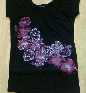 Блуза трикотаж 50-52 размер