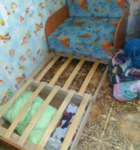 Детский диван-кресло